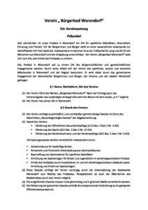 Satzung Stand 19.05.2018
